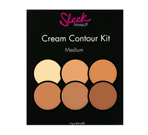 Sleek MakeUP Cream Contour Kit Medium - £6.99