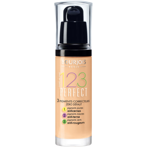 Bourjois 123 Perfect Foundation 54 Beige - Beautynstyle