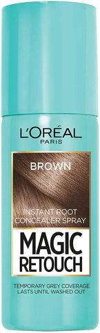 L'Oreal Paris Magic Retouch Instant Root Concealer Spray Brown - Beautynstyle