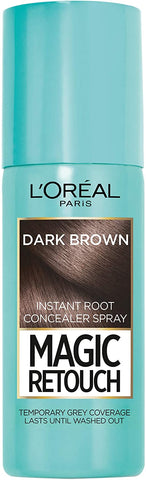 L'Oreal Paris Magic Retouch Instant Root Concealer Spray Dark Brown - Beautynstyle