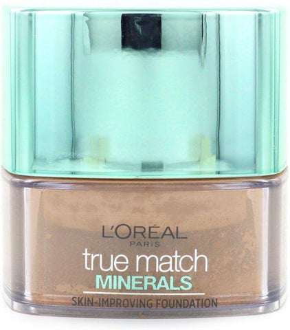 L'Oreal True Match Minerals Powder Foundation 8.N Cappuccino - Beautynstyle