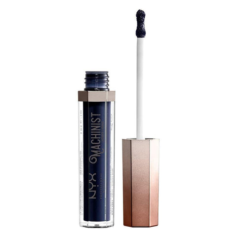 NYX Machinist Lip Lacquer Glossy Blue 02 Steam - Beautynstyle