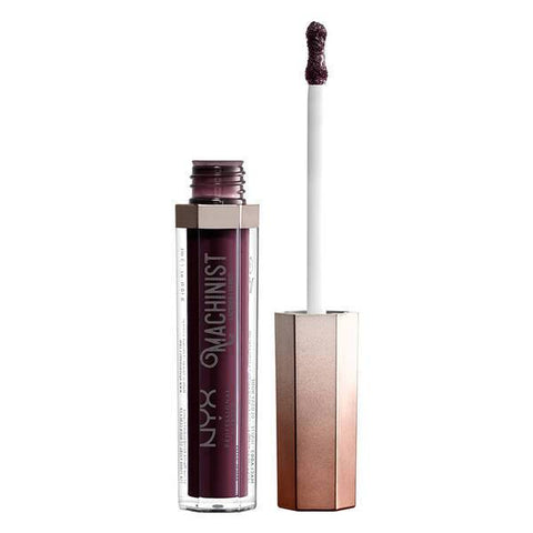 NYX Machinist Lip Lacquer Glossy Wine 01 Grind - Beautynstyle