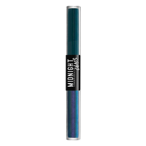 NYX Midnight Chaos Dual Ended Eyeliner 02 Teal / Metaphysical - Beautynstyle