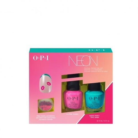 O.P.I Limited Edition Pump Neon Collection Nail Art Duo 1 - Beautynstyle