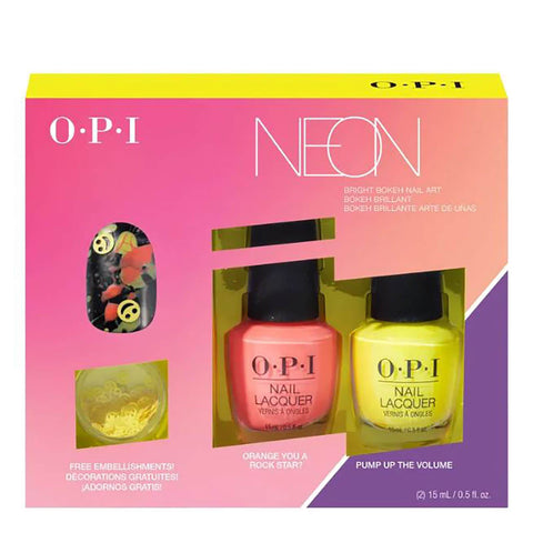 O.P.I Limited Edition Pump Neon Collection Nail Art Duo 2 - Beautynstyle