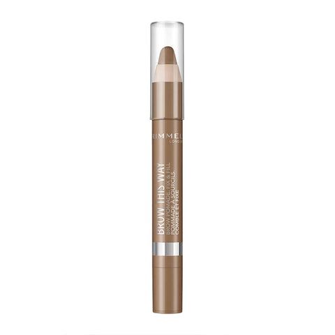 Rimmel Brow This Way Brow Pomade Fix & Fill Pencil 002 Medium - Beautynstyle