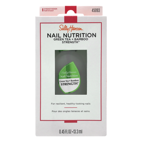 Sally Hansen Nail Nutrition Green Tea & Bamboo Strength - Beautynstyle
