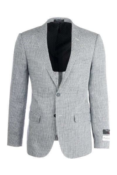 Sienna Slim Fit, Linen Jacket by Tiglio Luxe 101396
