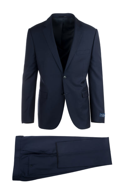 Sangria Modern Fit, Pure Wool Suit 1880U/0111, Ermenegildo Zegna Cloth by Canaletto