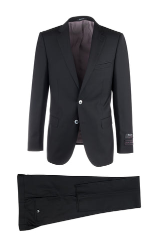 Porto Slim Fit, Pure Wool Suit by Tiglio Luxe 21201/0024