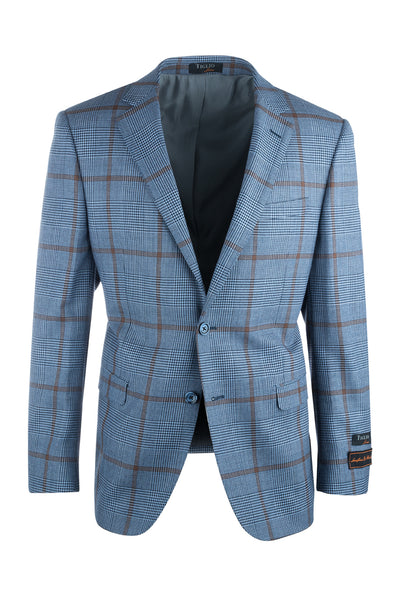 Sangria Modern Fit, Pure Wool Jacket by Tiglio Luxe 225.314/1