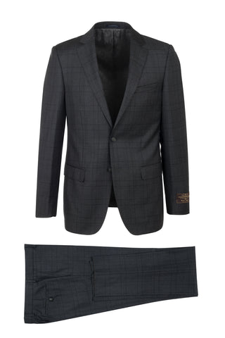 PORTO Slim Fit, Pure Wool Suit 286.740/1 VITALE BARBERIS CANONICO Cloth by Canaletto Menswear