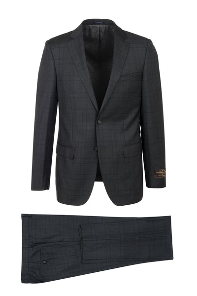DOLCETTO Modern Fit, Pure Wool Suit 286.740/1 VITALE BARBERIS CANONICO Cloth by Canaletto Menswear