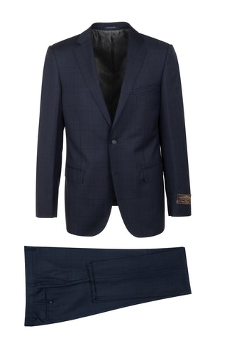 DOLCETTO Modern Fit, Pure Wool Suit 286.740/2 VITALE BARBERIS CANONICO Cloth by Canaletto Menswear