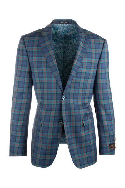 Sangria Modern Fit, Pure Wool Jacket by Tiglio Luxe 32210/2