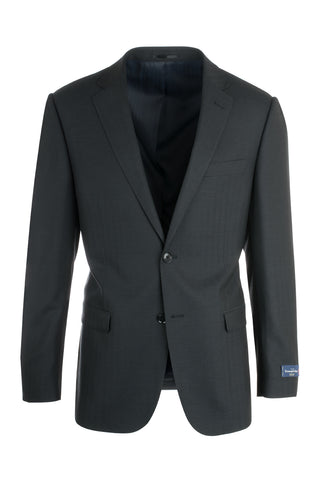 Sangria Modern Fit, Wool & Silk Jacket, Ermenegildo Zegna Cloth by Canaletto Menswear 3450/571