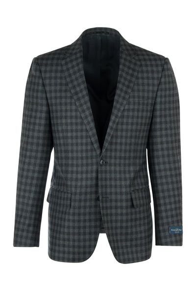Sangria Modern Fit, Pure Wool Jacket by Tiglio Luxe 3790/0741