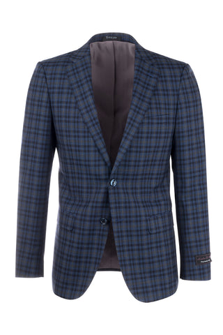 Porto Slim Fit, Pure Wool Jacket by Tiglio Luxe 47590/1