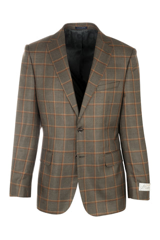 Dolcetto Modern Fit, Silk and Wool Jacket by Canaletto Menswear 51172/1B