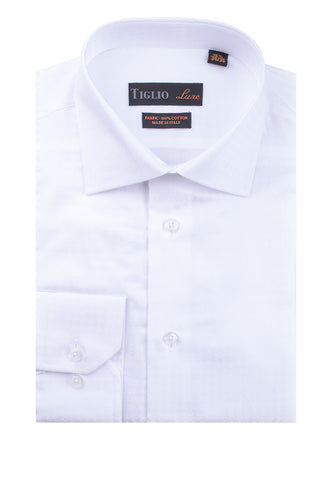 Dress Shirt - Barrel Cuff GENOVA-RC 56/01/F01PT