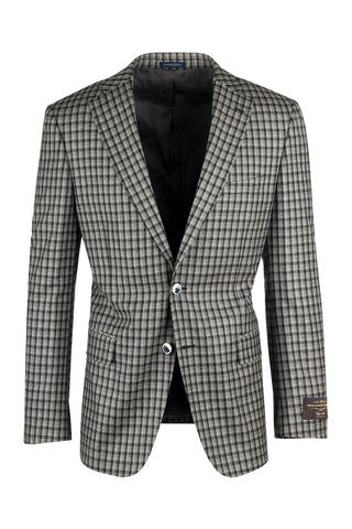 Dolcetto Modern Fit, Pure Wool Jacket by Canaletto Menswear 64.520/1