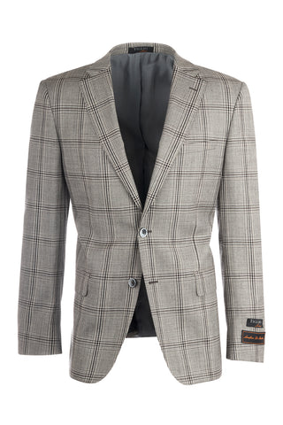 Dolcetto Modern Fit, Pure Wool Jacket by Tiglio Luxe T64.523/2