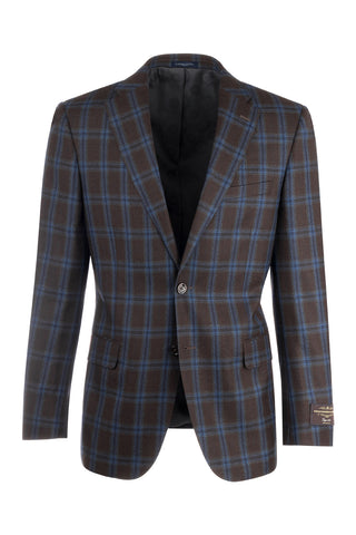Dolcetto Modern Fit, Pure Wool Jacket by Canaletto Menswear C64.523/2