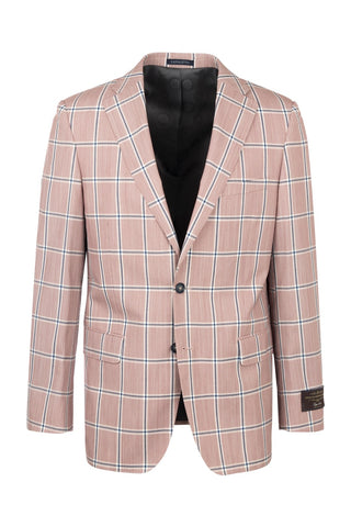 Dolcetto Modern Fit, Pure Wool Jacket by Tiglio Luxe 7123/1