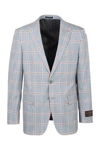 Dolcetto Modern Fit, Pure Wool Jacket by Tiglio Luxe 7123/2