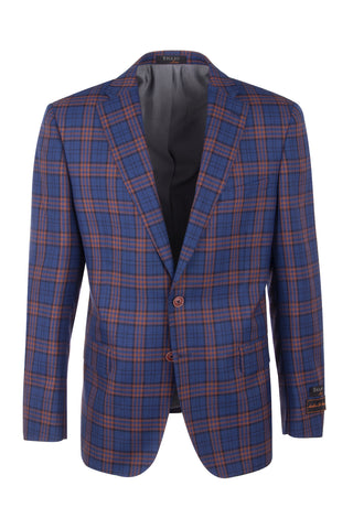 Dolcetto Modern Fit, Pure Wool Jacket by Tiglio Luxe Menswear 7223M/302/1