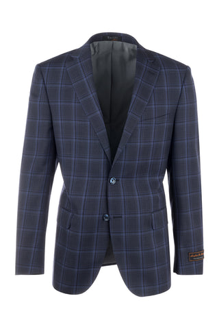 Dolcetto Modern Fit, Pure Wool Jacket by Tiglio Luxe 74232/1