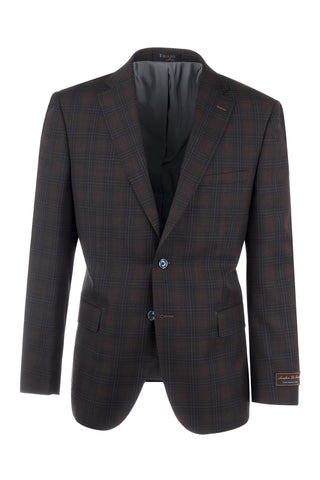 Dolcetto Modern Fit, Pure Wool Jacket by Tiglio Luxe 74262/7