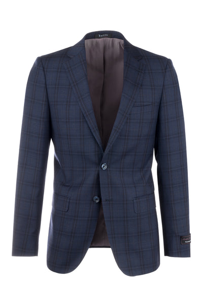 Porto Slim Fit, Pure Wool Jacket by Tiglio Luxe 74264/2