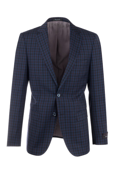 Porto Slim Fit, Pure Wool Jacket by Tiglio Luxe 74274/5