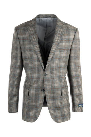 Como Modern Fit, Pure Wool Jacket, Ermenegildo Zegna Cloth by Canaletto 868/2101