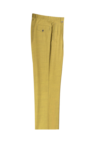 Tea Green Wide Leg Wool Dress Pant 2586/2576 by Tiglio Luxe 876601/4107