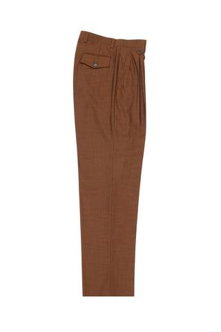 Rust Wide Leg, Wool Dress Pant 2586/2576 by Tiglio Luxe 876601/4108