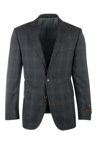 Sangria Modern Fit, Pure Wool Jacket by Tiglio Luxe 8878M/320/1