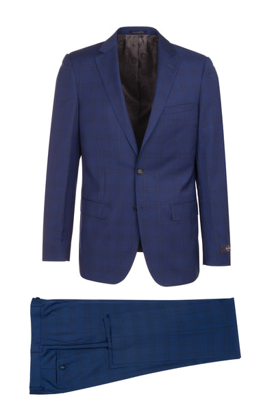 DOLCETTO Modern Fit, Pure Wool Suit CR141606/6 REDA Cloth by Canaletto Menswear