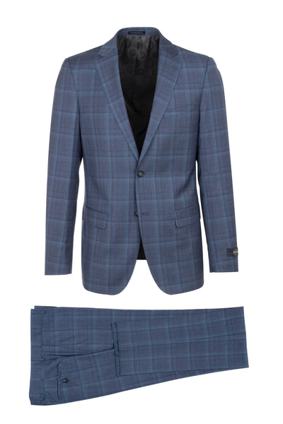 DOLCETTO Modern Fit, Pure Wool Suit CR141607/3 REDA Cloth by Canaletto Menswear
