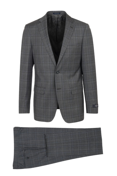 DOLCETTO Modern Fit, Pure Wool Suit CR141607/4 REDA Cloth by Canaletto Menswear
