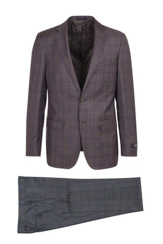 DOLCETTO Modern Fit, Pure Wool Suit CR188011/3 REDA Cloth by Canaletto Menswear