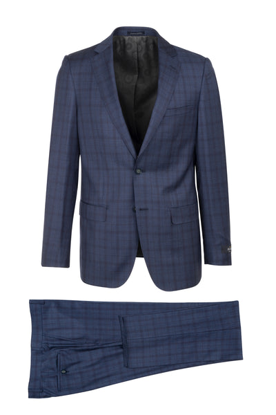 Porto Slim Fit, Pure Wool Suit CR188011/4 REDA Cloth by Canaletto Menswear
