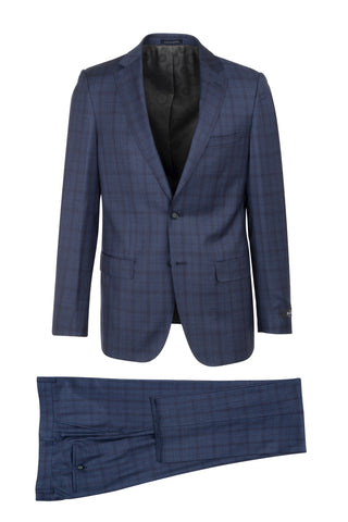 DOLCETTO Modern Fit, Pure Wool Suit CR188011/4 REDA Cloth by Canaletto Menswear