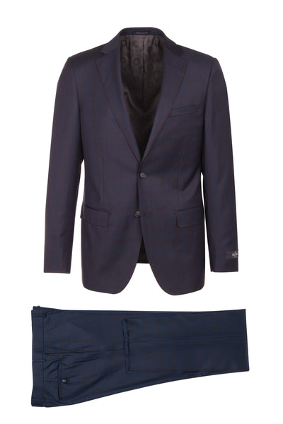 DOLCETTO Modern Fit, Pure Wool Suit CR188011/5 REDA Cloth by Canaletto Menswear