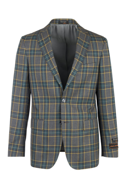 Dolcetto Modern Fit, Pure Wool Jacket by Tiglio Luxe CV74864/1
