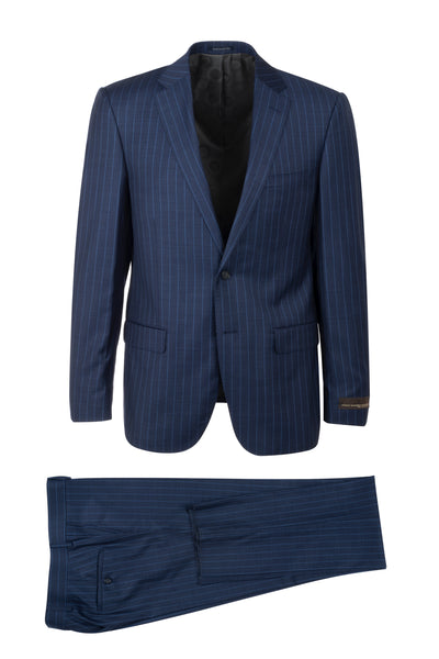 Porto Slim Fit, Pure Wool Suit CV9210 VITALE BARBERIS CANONICO Cloth by Canaletto Menswear