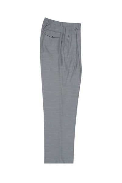 Light Gray Wide Leg Wool Dress Pant 2586/2576 by Tiglio Luxe E09063/26