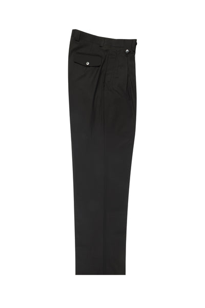 Dark Olive, Wide Leg Wool Dress Pant 2586/2576 by Tiglio Luxe FT1209/2